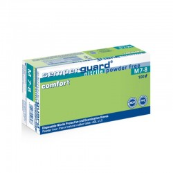 GANT NITRILE NON POUDRE Comfort Semperguard™ T.M SANS PHTALATES x100