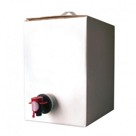 SOLUTION HYDRO ALCOOLIQUE conforme OMS BAG IN BOX x 5L